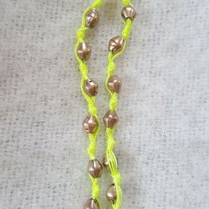 Lucky Brand Jewelry - Lucky Brand mid length rune charm necklace neon